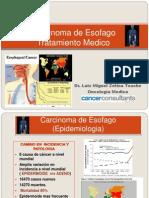 Carcinoma de Esofago