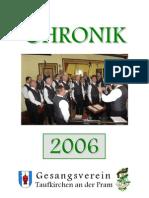 Gesangsverein Taufkirchen Chronik 2006