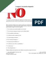 Diez Maneras de Decir NO