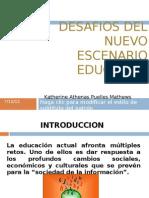 Desafios Del Nuevo Escenario Educativo 2