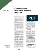 Climatización mediante bombas de calor