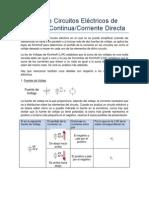 Guía 2 - Análisis de Circuitos Eléctricos de CD