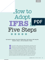 How to Adobt Ifrs 1