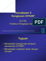 Rangkaian Op Amp