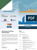 TechCamp 2012 Agenda
