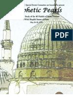Prophetic Pearls Retreat Packet