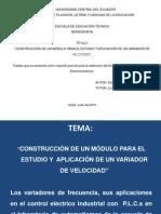 Elementos de protección elelectricos..
