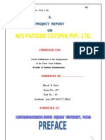 Patidar Cotton