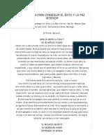 Wayne W. Dyer - 10 Secretos para Conseguir el Éxito y la Paz Interior (Resumen)