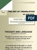 Art of Translation Presentation