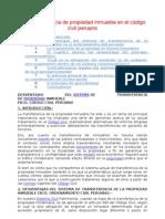 Transferencia de propiedad inmueble en el código civil peruano