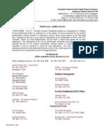 Doctors and Hospitals List_8Nov2011