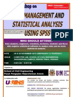 Data Management and Statistical Analysis Using SPSS