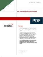Test Engineering Maturity Model- Impetus White Paper