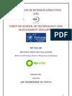 Bp Solar Growing Through Challenges