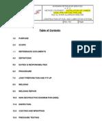 Installation of Fuel Pipe Line Method Statement