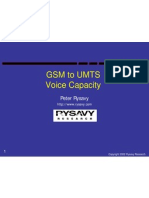 GSM to UMTS - Voice Capacity