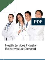 HealthCare DataCard