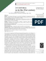 Boyatzis - Competencies in the 21 Century