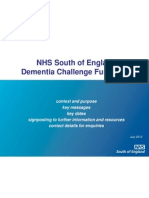 Dementia Challenge Fund briefing South Central