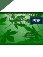 Human Resource Accounting&Auditing