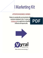 Vyral Marketing Kit - FREE How It Works Kit (What You Get)