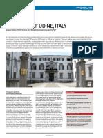 Case Study - ipoque - University of Udine, Italy