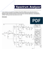 Audio Spectrum Analyzer -Circuit Desgin Project | Electronic