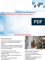 White Paper Summary Recent Trends in Warehousing