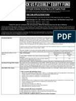 DSP BlackRock US Flexible Equity Fund - NFO Application From With KIM Form