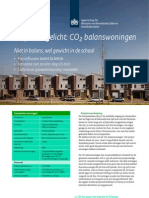 Project Uitgelicht - CO2 Balanswoningen
