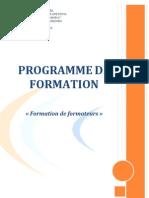 Formation Formateur