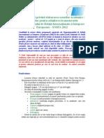 Ghid Recomandat Pentru Elaborarea Eseului Academic Pentru Admiterea La DRIIE 2012.