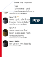 iglidur bearings for High Temperatures