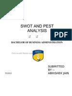 Abhishek Swot and Pest