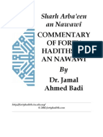 Commentaries on Nawawi 40 Hadith