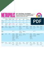 2011 Editorial Calendar