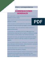Guía de archivo y correspondencia