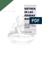 HISTORIA DE LAS HIERBAS MAGICAS, SEXTA LECCIÓN