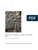 British Museum Expedition to Elkab and Hagr Edfu