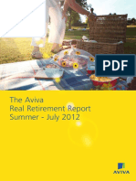Aviva Real Retirement Report Summer 2012