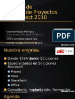 Gestion de Cartera de Proyectos Con Project 2010 11-05-13