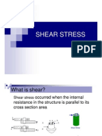 Chapter 3 Shear Stress