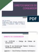 AULA DIREITOS BÁSICOS DO CONSUMIDOR [Modo de Compatibilidade]