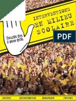 Livret interventions scolaire SOS Racisme