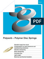Polysorb – Polymer Disc Springs