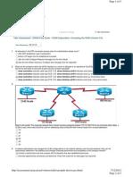 EWAN Final Exam - CCNA Exploration- Accessing the WAN - V4.0 - 640-802 - JULY 2012