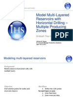 Model Multi-Layered Reservoirs with Horizontal Drilling – Multiple Producing Zones