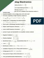Formulae Chart
