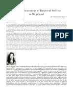 Dr. Toshimenla Jamir - Gender Dimensions of Electoral Politics in Nagaland